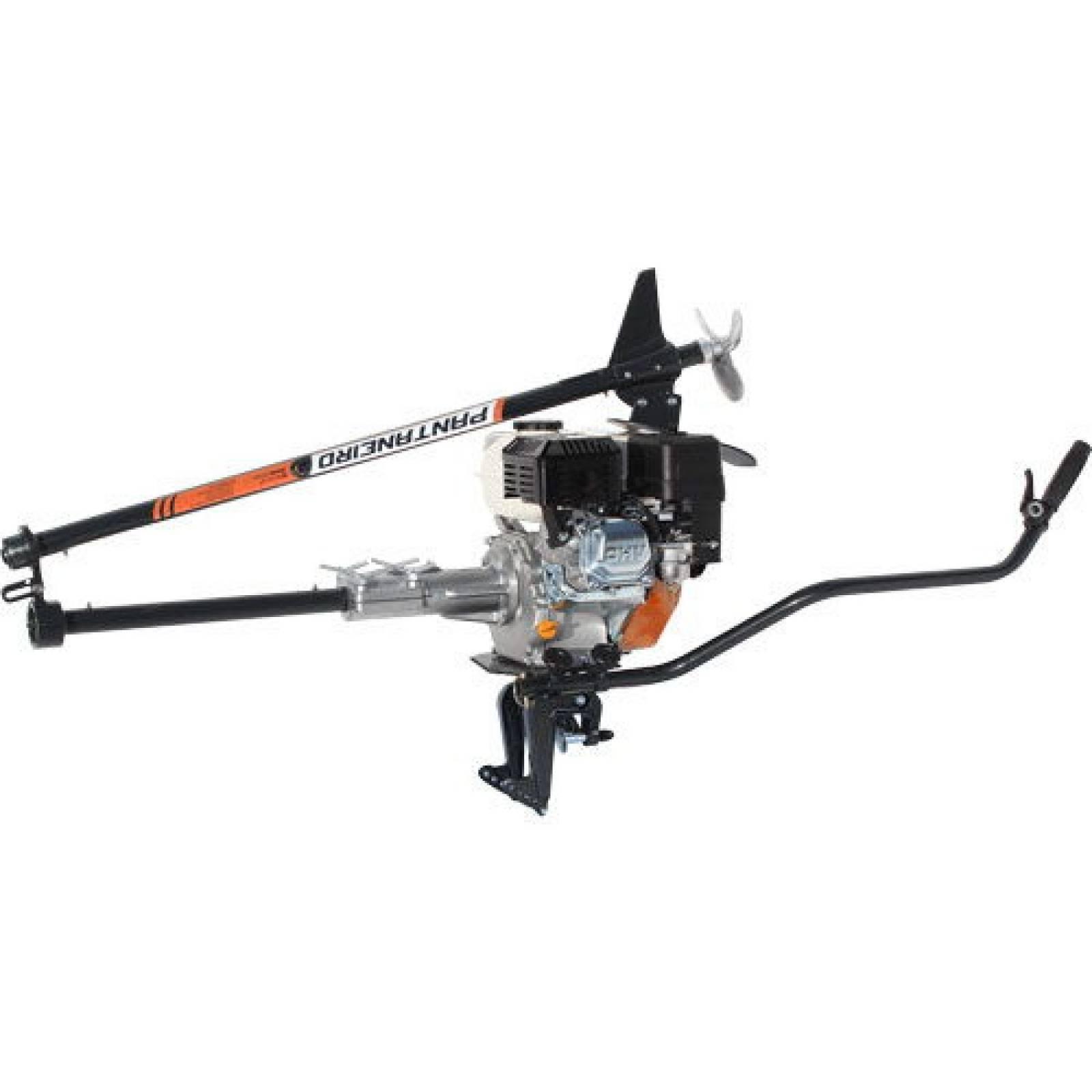 Rabeta Aço Pratic Dobrável Motor branco 13 hp 1,7m - Pesca e Campo