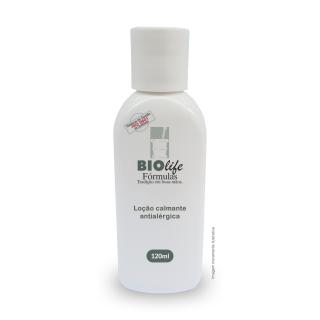Loção calmante anti-alérgica   BioLife