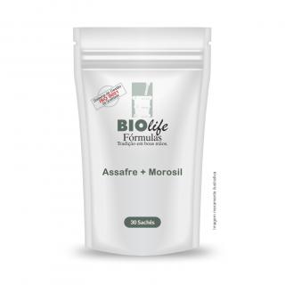 Assafre 100mg + Morosil 300mg com 30 sachês | BioLife