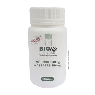 MOROSIL 300mg + ASSAFRE 150mg com 30 cápsulas | BioLife