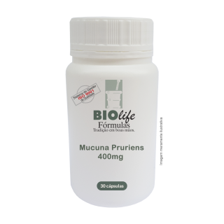 Mucuna Pruriens 400mg (L-dopa Natural, com Propriedades Afrodisíacas) | BioLife