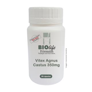 Vitex Agnus Castus 350mg com 30 cápsulas | BioLife