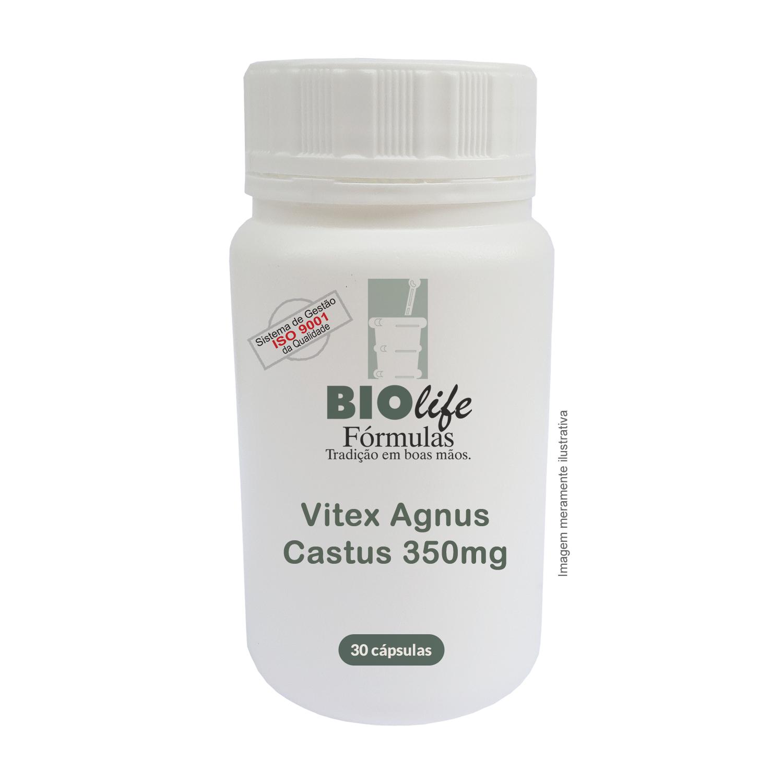 Vitex Agnus Castus 350mg com 30 cápsulas - BioLife