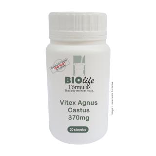 Vitex Agnus Castus 370mg com 30 cápsulas | BioLife