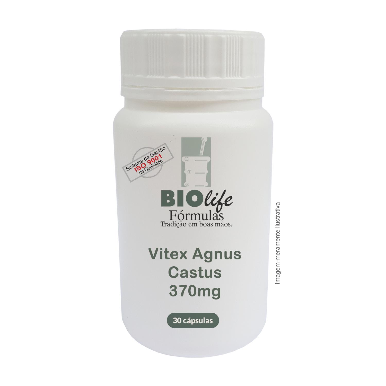 Vitex Agnus Castus 370mg com 30 cápsulas