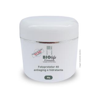 Ácido Hialurônico 2% + OTZ 10 1,5% + Loção cremosa facial FPS 40 qsp 80g | BioLife