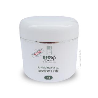 Anti-aging Rosto, Pescoço e Colo - Sculptessence 5% + Densiskin D 3% + Fiflow BTX 5% | BioLife