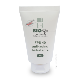 Anti-aging, Filtro Solar e Hidratante - FPS 40 | BioLife