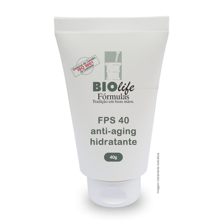 Anti-aging, Filtro Solar e Hidratante - FPS 40