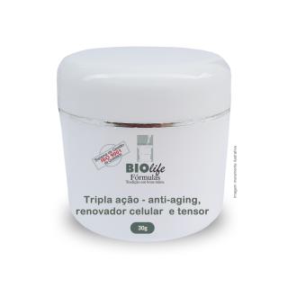 Creme Hidratante Anti-aging com Elastocel e Tensine | BioLife