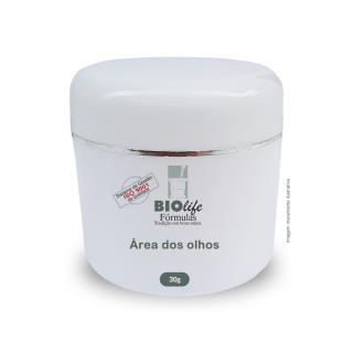 Área dos Olhos - EFEITO CINDERELA -Tensine 10% + Raffermine 5% + Longevicel 5% com 30g | BioLife