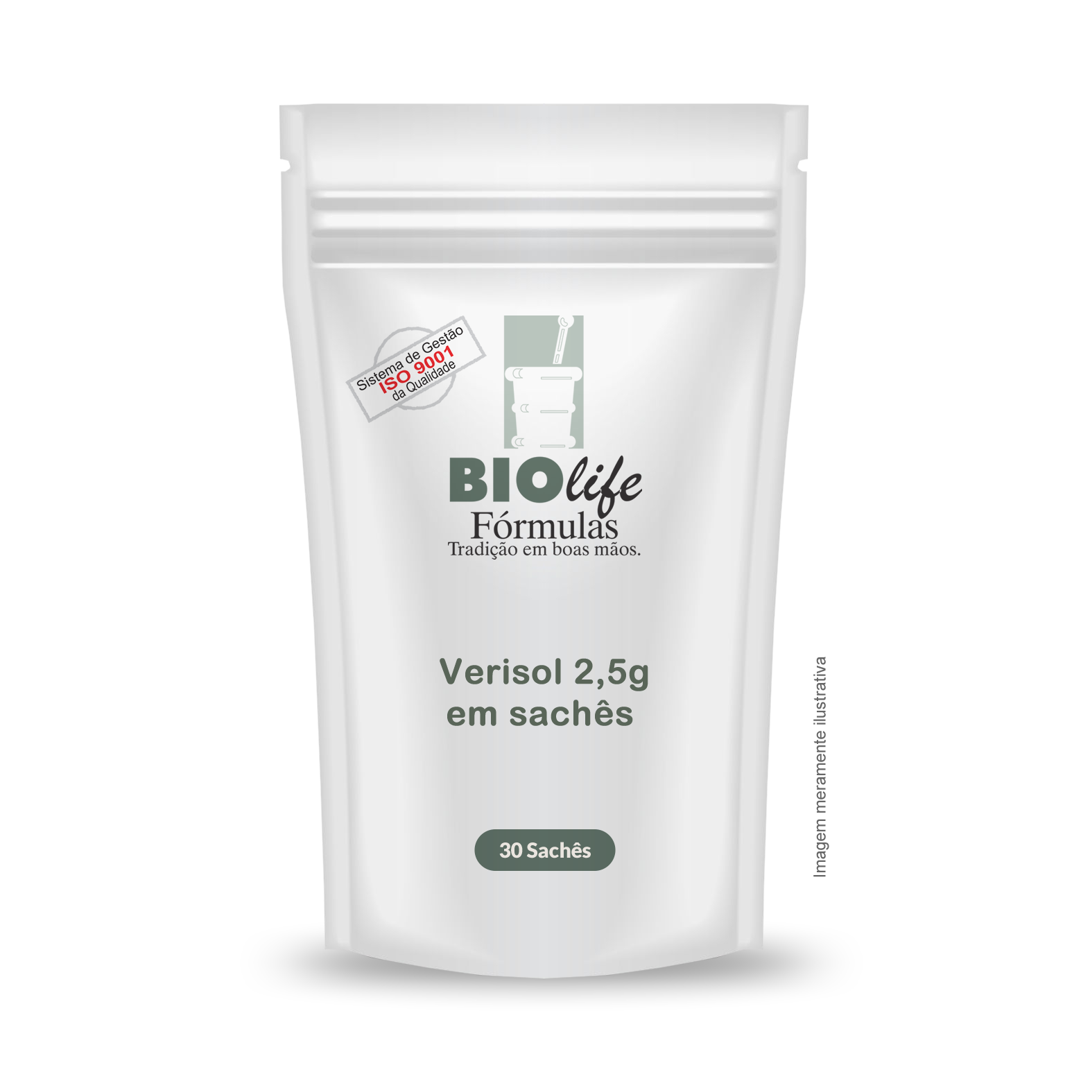 Verisol 2,5g em sachês - 30 unidades