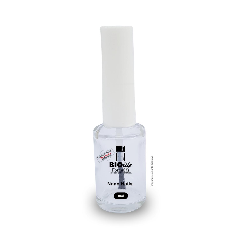 Nano Nails 8mL - Reparador de Unhas Danificadas