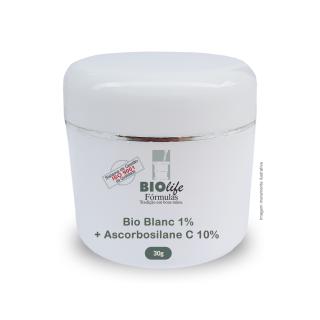 Bio Blanc 1% + Ascorbosilane C 10% + Base hydrafresh qsp 30g | BioLife
