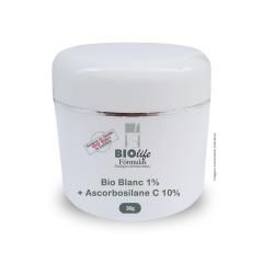 Bio Blanc 1% + Ascorbosilane C 10% + Base hydrafresh qsp 30g