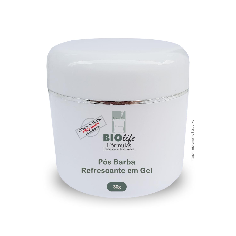 Pós Barba Refrescante em Gel, com Propriedade Cicatrizante e Calmante - BioLife