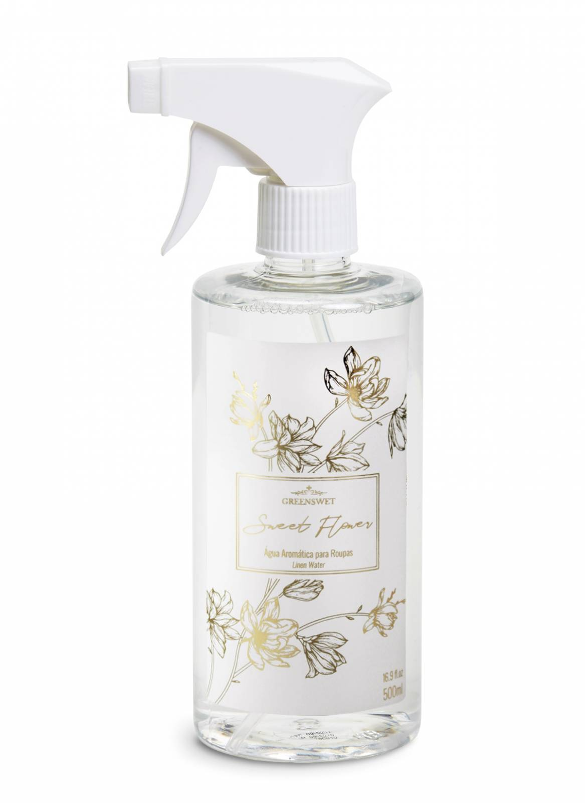 Água Aromática 500ml Essência Sweet Flower  - Greenswet Aromatizantes