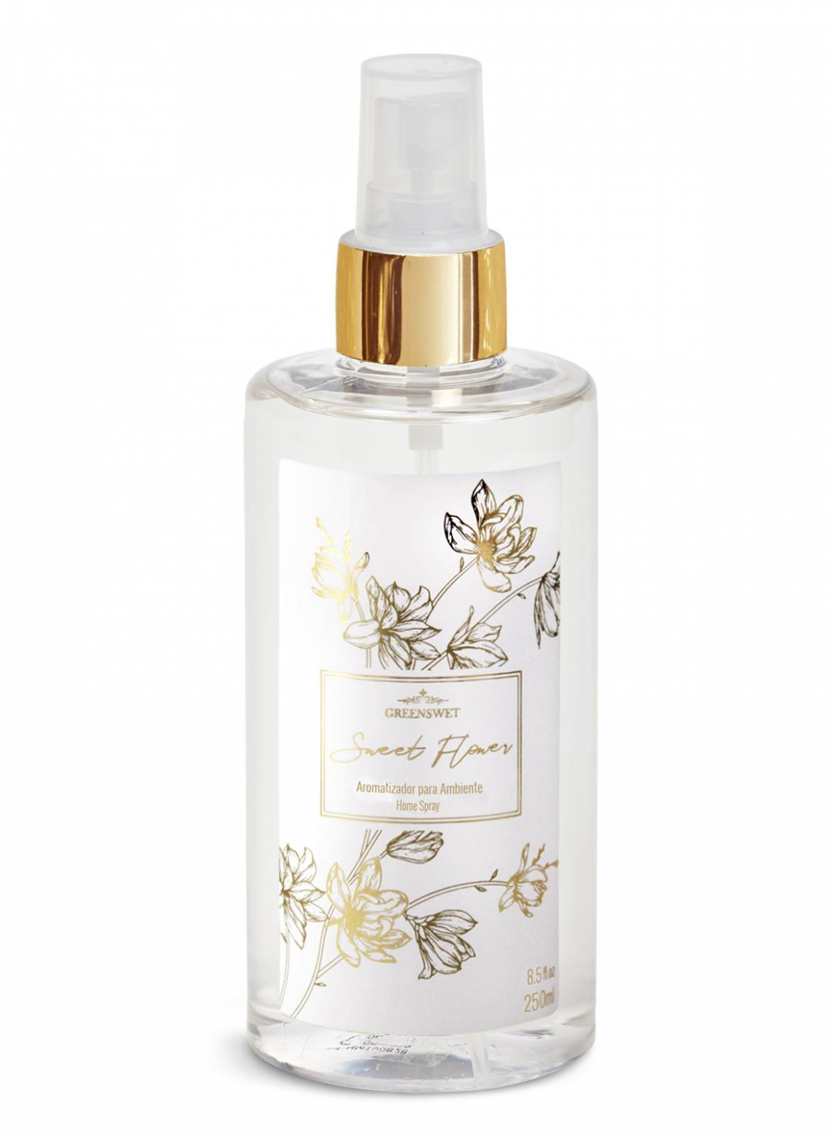 Home Spray 250ml Essência Sweet Flower - Greenswet Aromatizantes