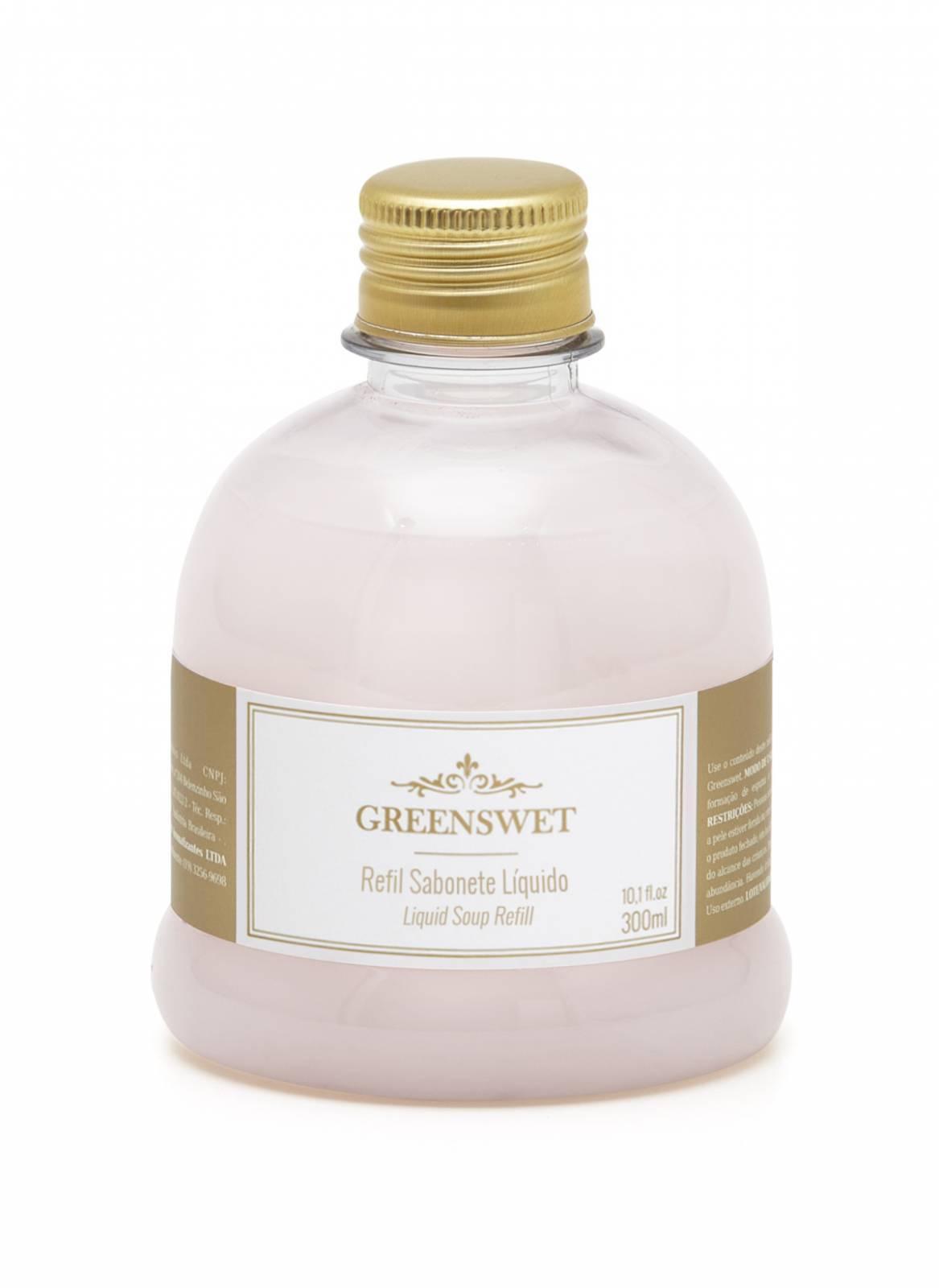 Refil Sabonete Liquido 300 ml Essência Sweet Flower - Greenswet Aromatizantes