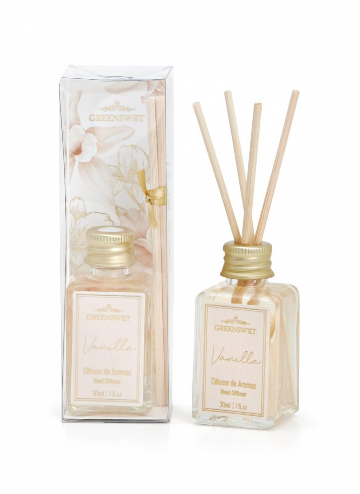 Difusor de Aromas 30ml Essência Vanilla - Greenswet Aromatizantes