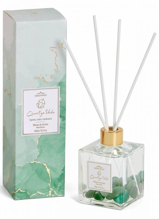 Difusor de Aromas 250 ml Quartzo Verde
