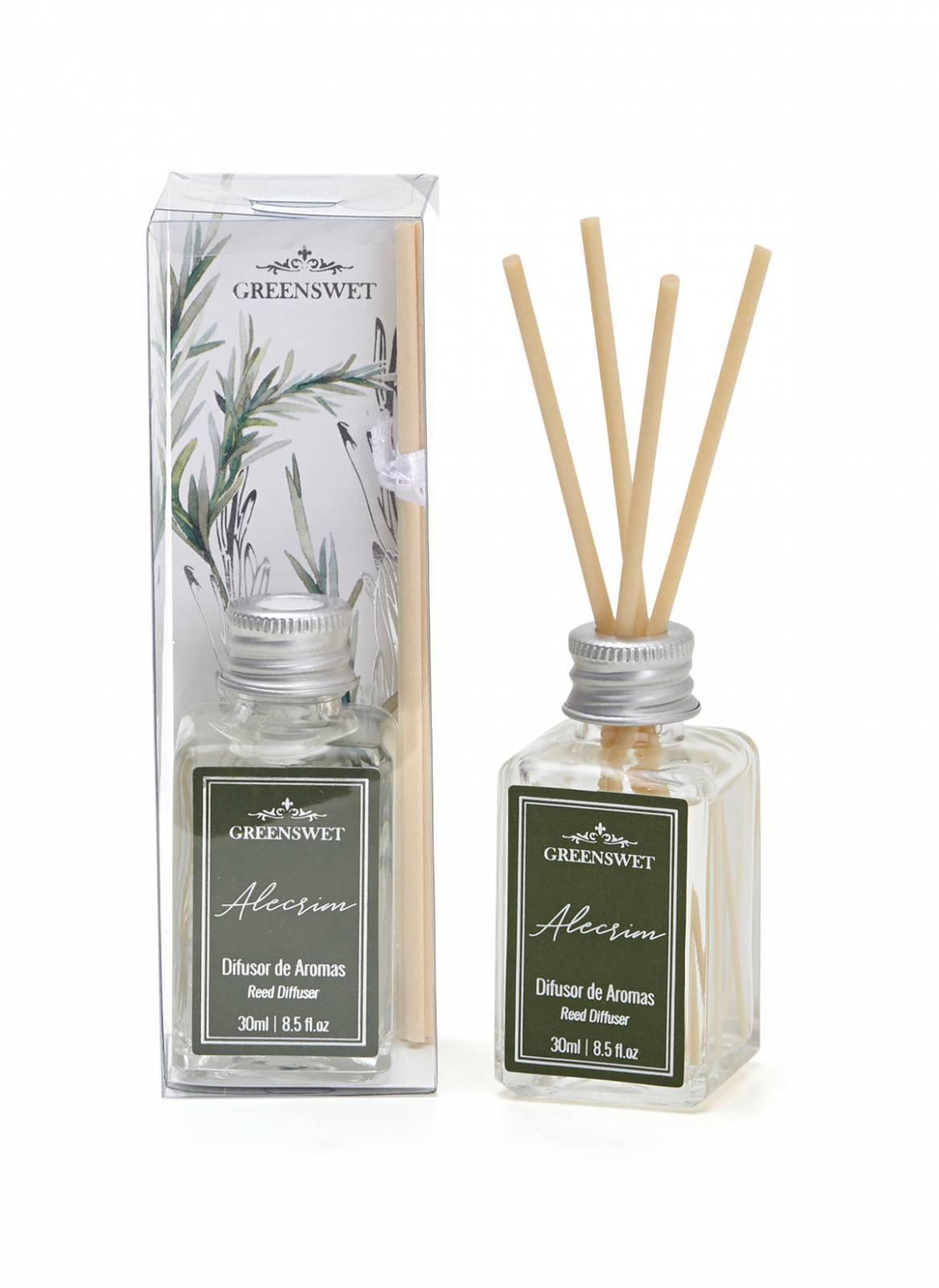 Difusor de Aromas 30ml Essência Alecrim - Greenswet Aromatizantes