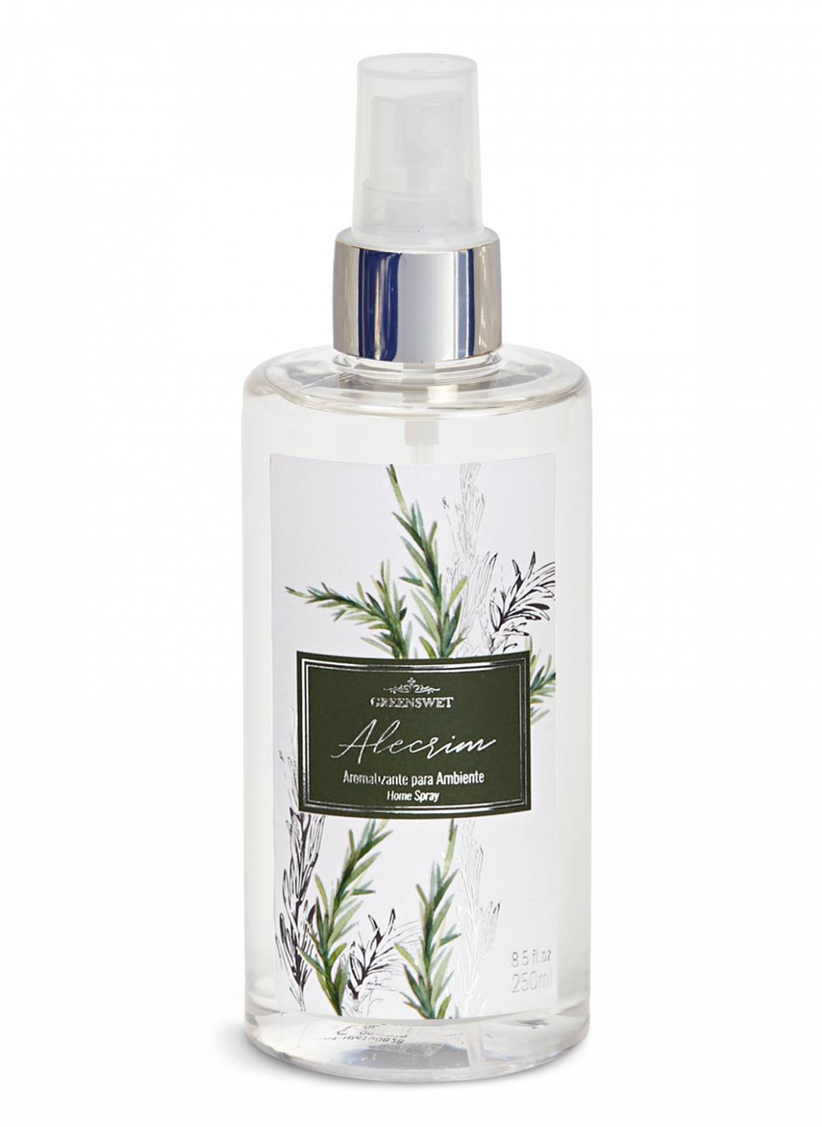 Home Spray 250ml Essência Alecrim - Greenswet Aromatizantes