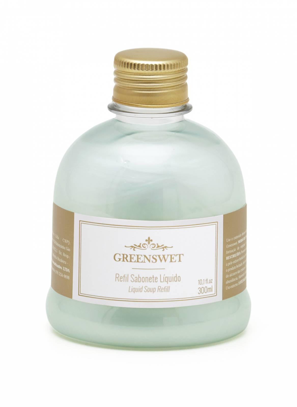 Refil Sabonete Liquido 300 ml Essência Alecrim - Greenswet Aromatizantes
