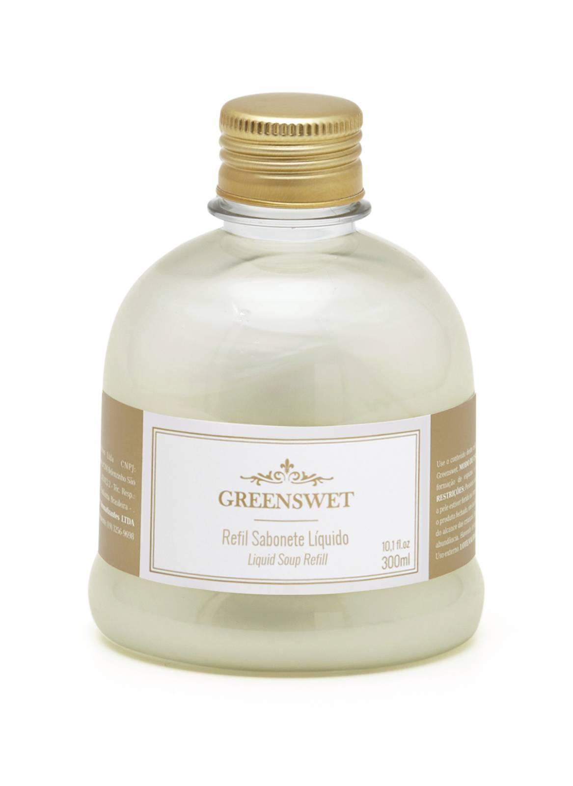 Refil Sabonete Liquido 300 ml Essência Bambu - Greenswet Aromatizantes