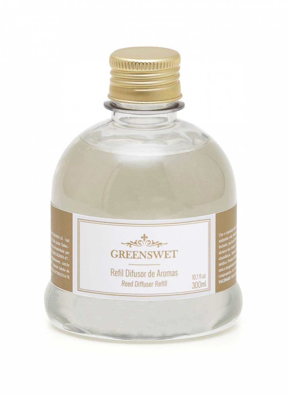 Refil Difusor de Aromas 300ml Essência Chá Branco - Greenswet Aromatizantes