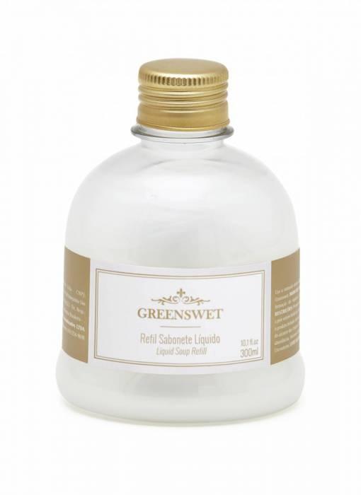 Refil Sabonete Liquido 300 ml Essência Chá Branco