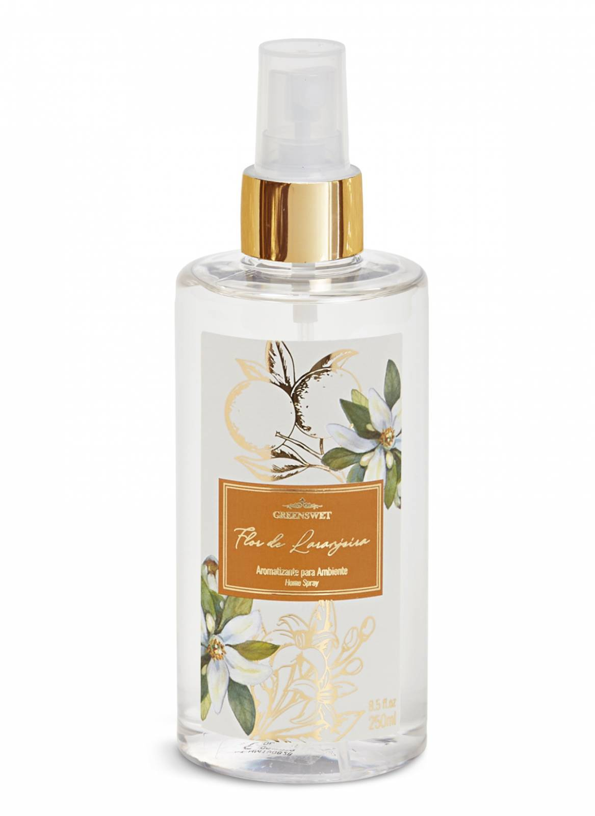 Home Spray 250ml Essência Flor de Laranjeira - Greenswet Aromatizantes