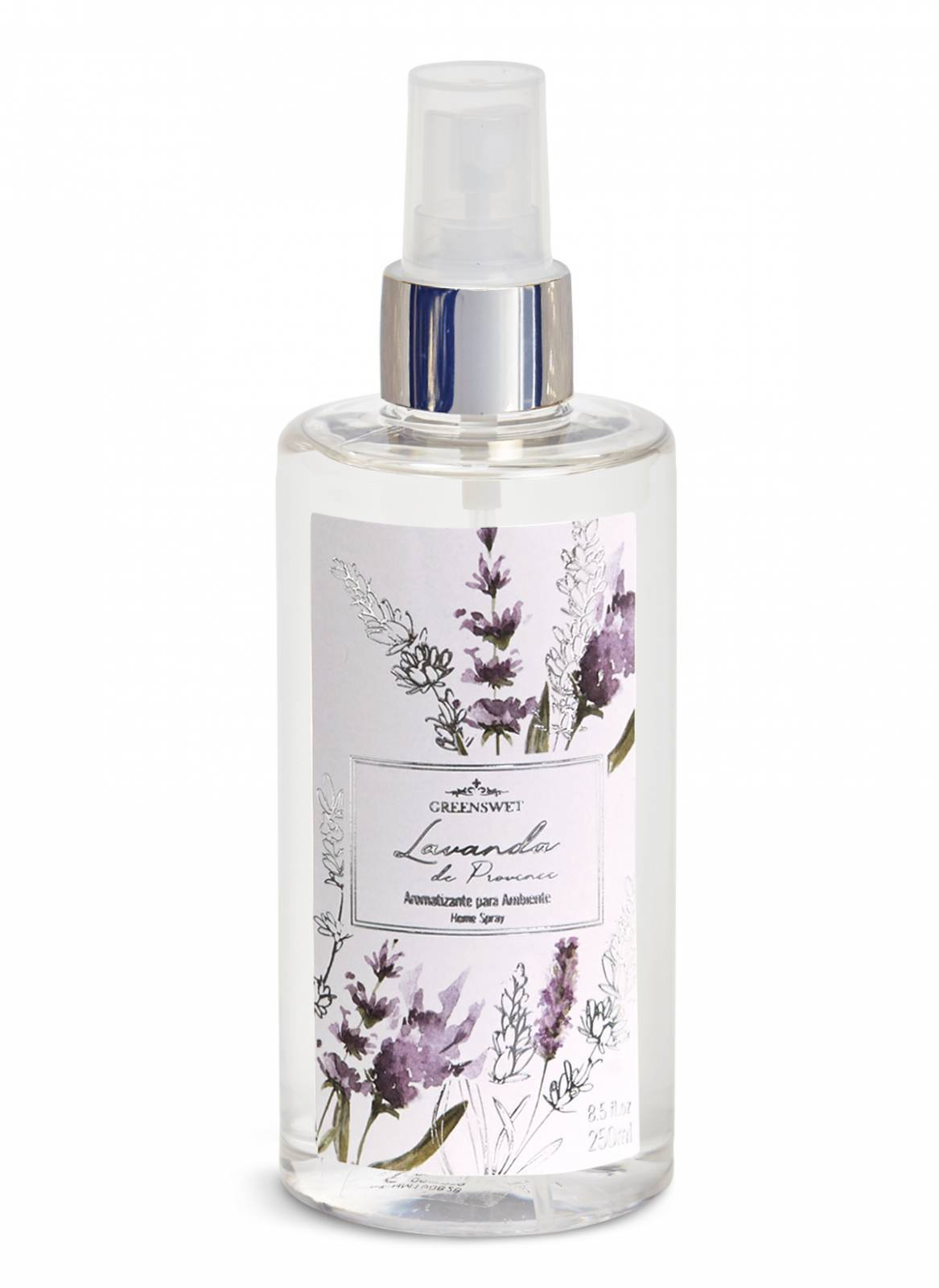 Home Spray 250ml Essência Lavanda - Greenswet Aromatizantes