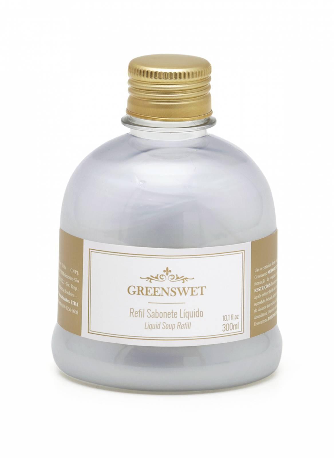 Refil Sabonete Liquido 300 ml Essência Lavanda - Greenswet Aromatizantes