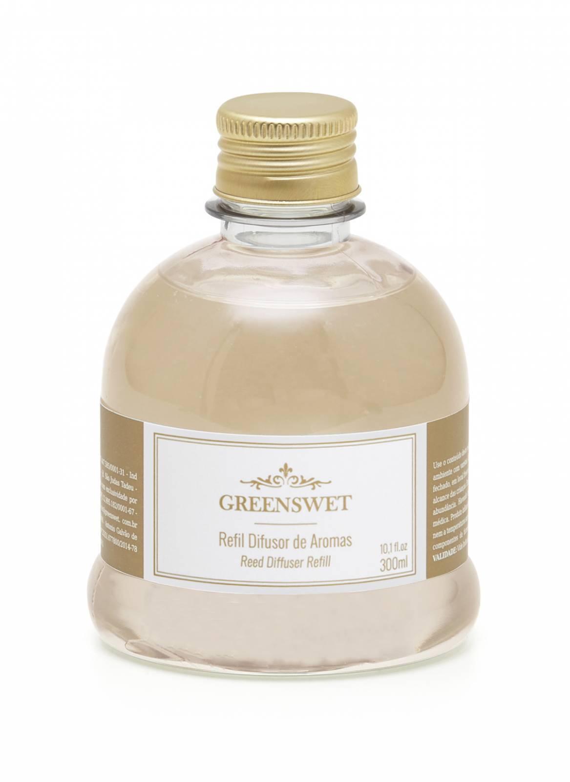 Refil Difusor de Aromas 300ml Essência Vanilla - Greenswet Aromatizantes