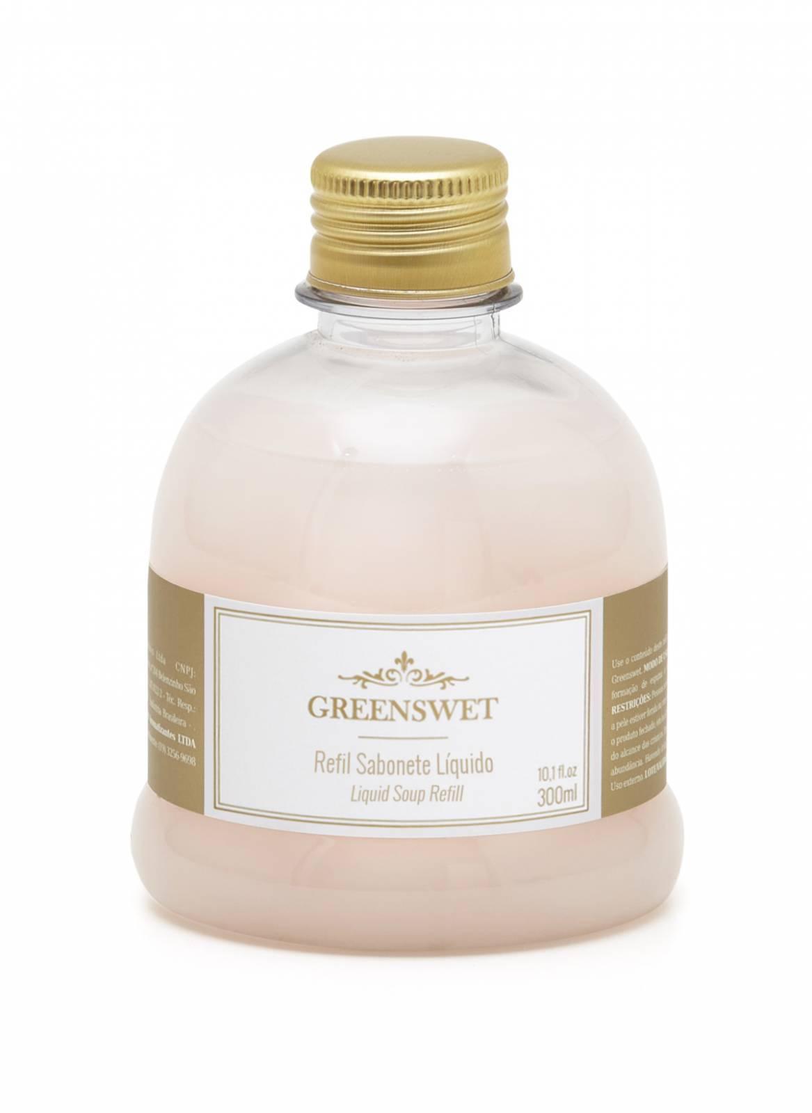 Refil Sabonete Liquido 300 ml Essência Vanilla - Greenswet Aromatizantes