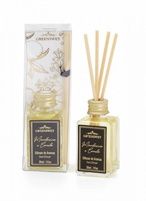 Difusor de Aromas 30ml Essência Mandarina e Canela