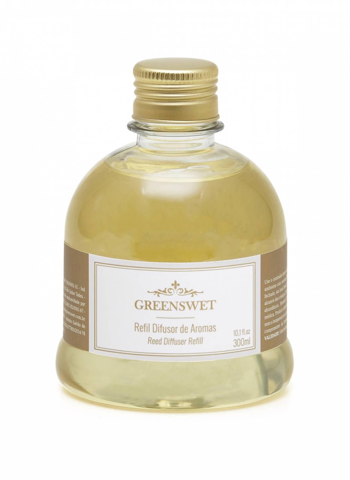 Refil Difusor de Aromas 300ml Essência Mandarina e Canela - Greenswet Aromatizantes
