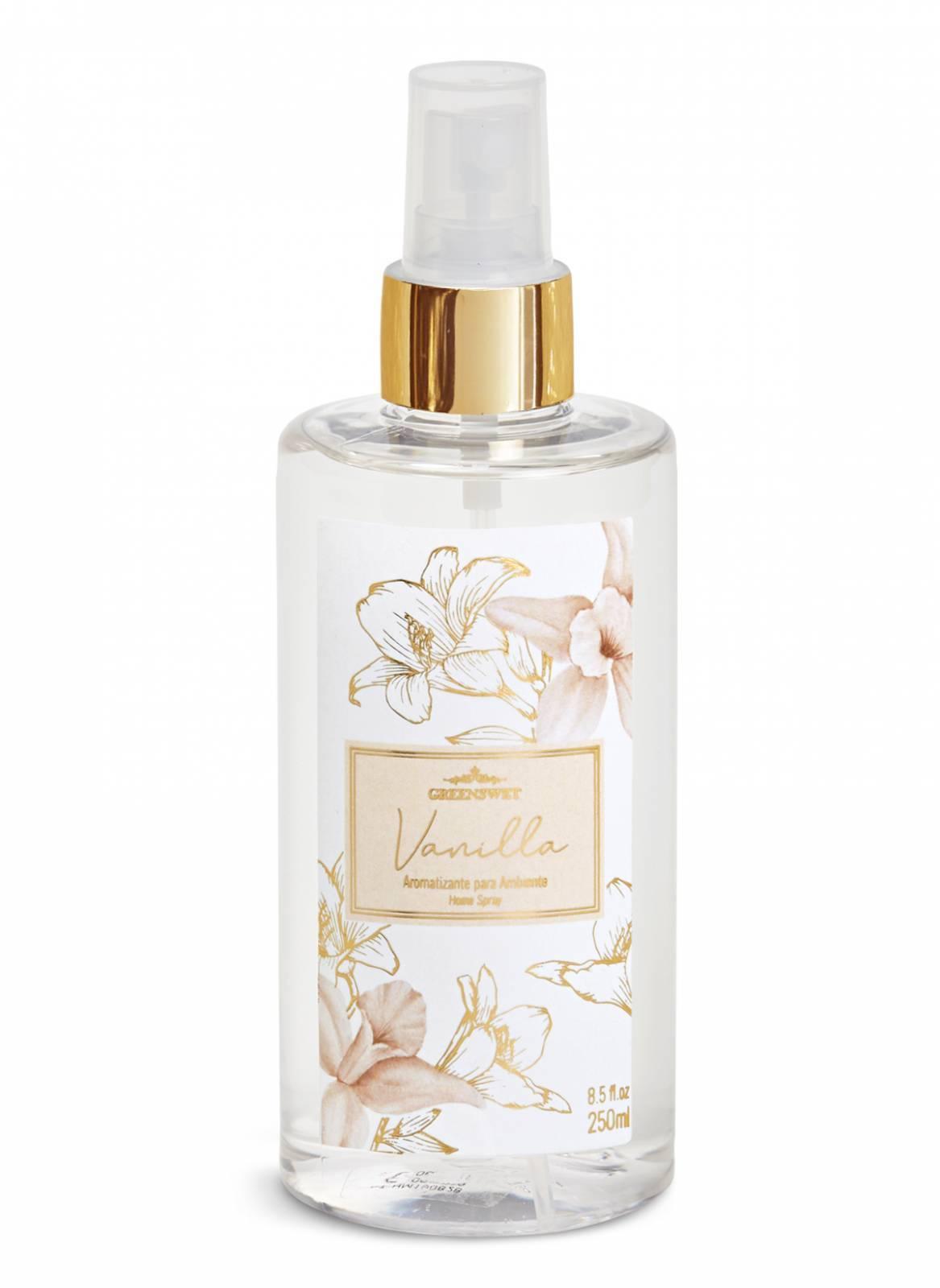Home Spray 250ml Essência Vanilla - Greenswet Aromatizantes
