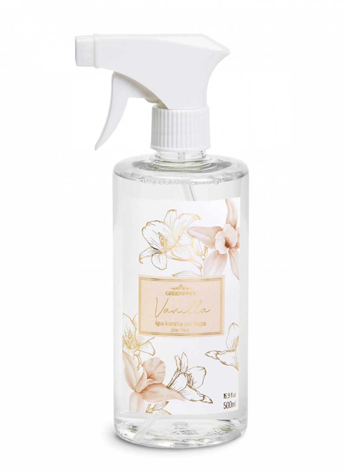 Água Aromática 500ml Essência Vanilla - Greenswet Aromatizantes