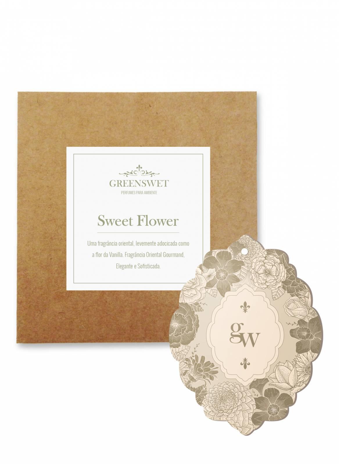 Amostra Linha Sweet Flower - FRETE GRÁTIS - Greenswet Aromatizantes