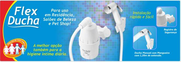 ducha flex para uso em salões de beleza e pet shop ou como ducha higiênica 4000w 220v fame