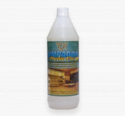 limpador pronto para uso pisos 1 litro w&w