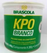 Brascoved Kpo Branco 1/4 440g poliuretano bicomponente Brascola | Santa Rosa Tintas