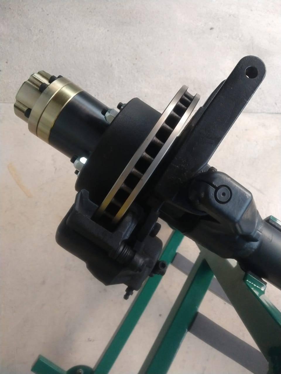 Eixo dianteiro Dana44-munhão aberto NHP c/ Cruzetão ROTAX 38mm 35/35 estrias c/ bloqueio automático - D driver equipamentos off road Joinville sc