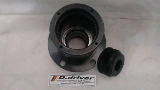 Kit traseiro estriado Troller 2002/2014   D driver equipamentos off road Joinville sc