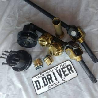 Kit para eixo dianteiro veículo Troller até 2001   D driver equipamentos off road Joinville sc