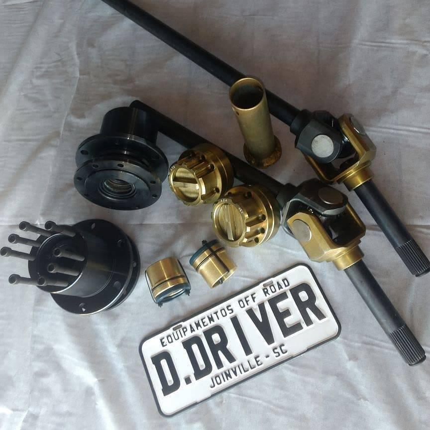 Kit para eixo dianteiro veículo Troller até 2001 - D driver equipamentos off road Joinville sc