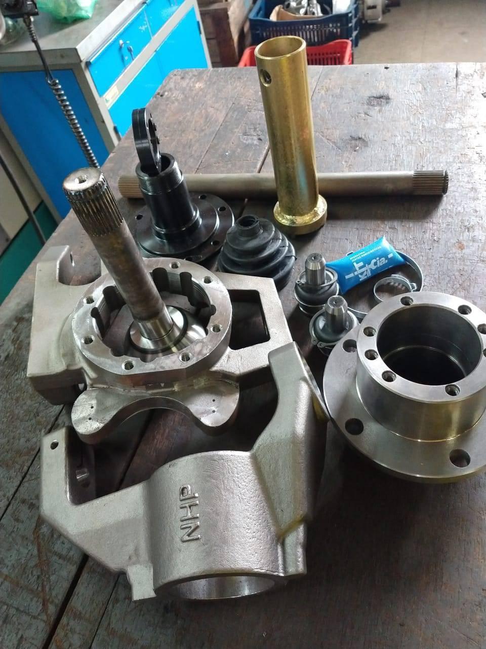 Munhão aberto NHP + kit rolamento capa cone - D driver equipamentos off road Joinville sc