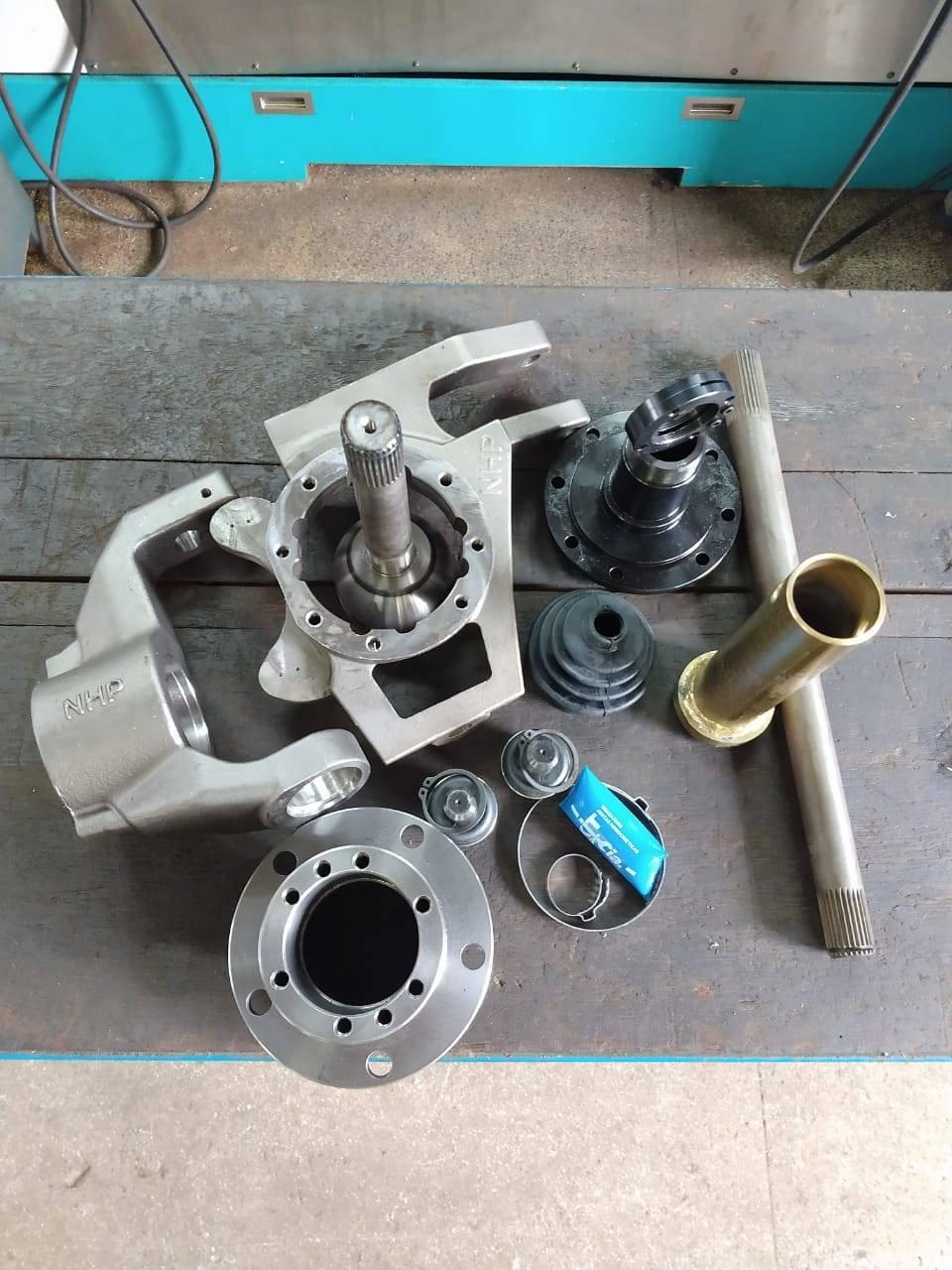 Munhão aberto NHP + kit rolamento Ducato - D driver equipamentos off road Joinville sc